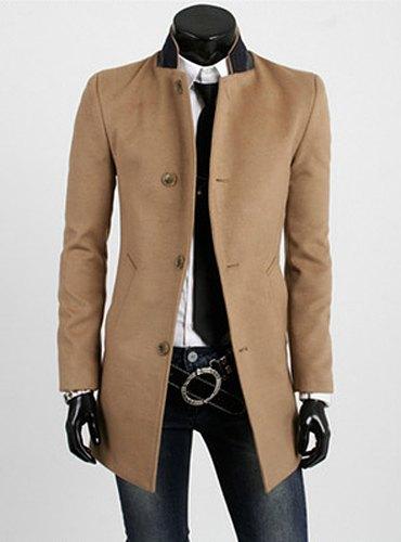 woolen trend coat