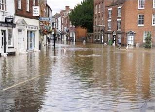 Flood sites